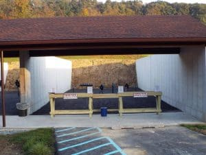 pistol range, shooting ranges