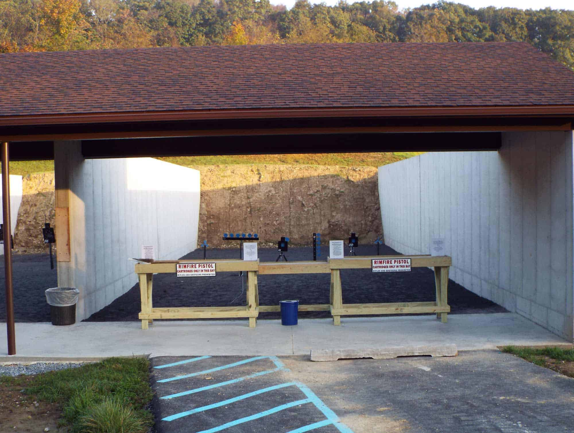 Perry Gun Club Firing Station