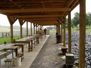 pistol and rifle range, shooting ranges